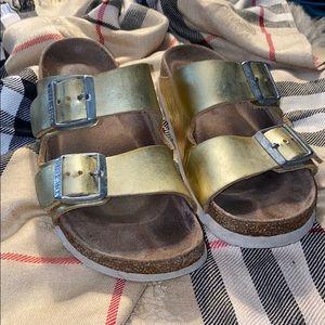 "Birkenstock ""Arizona"" style Sandals (37) Softbed"